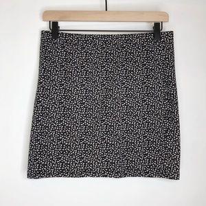 Garage Floral Stretch Mini Skirt sz L